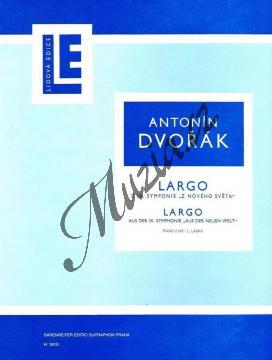 Dvořák Antonín | Largo z IX. symfonie  Z Nového světa | Noty na klavír - H1810.jpg