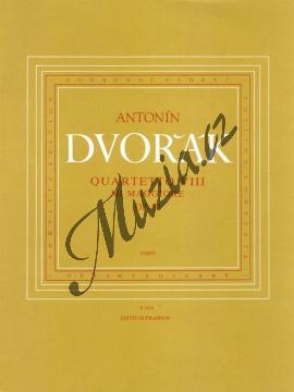 Dvořák Antonín   Smyčcový kvartet č. 8 E dur op. 80   Set partů - Noty pro smyčcový kvartet - H1834.jpg