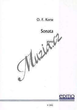 Korte Oldřich František | Sonáta pro klavír | Noty na klavír - H1842.jpg