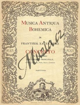 Brixi František Xaver   Concerto Fa maggiore per organo principale   Partitura - Noty na varhany - H1852.jpg