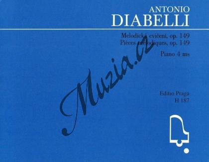 Diabelli Antonio | Melodická cvičení v rozsahu kvinty op. 149 | Noty na klavír - H187.jpg