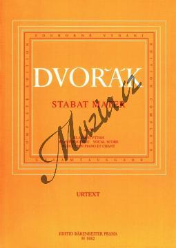 Dvořák Antonín | Stabat Mater op. 58 | Klavírní výtah - Noty pro sbor - H1882.jpg