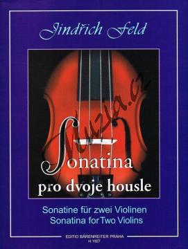Feld Jindřich | Sonatina pro dvoje housle | Set partů - Noty na housle - H1927.jpg