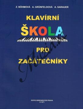 Böhmová, Grünfeldová, Sarauer | Klavírní škola pro začátečníky | Noty na klavír - H1971.jpg
