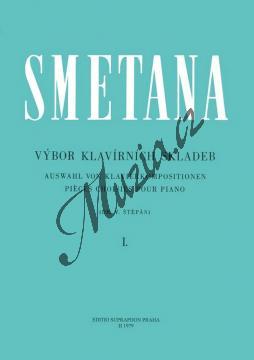 Smetana Bedřich | Výbor klavírních skladeb 1 | Noty na klavír - H1979.jpg