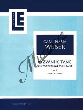 Weber Carl Maria von | Vyzvání k tanci op. 65 | Noty na klavír - H2017.jpg