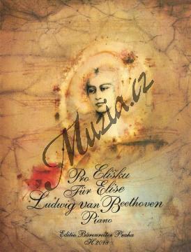 Beethoven Ludwig van | Pro Elišku | Noty na klavír - H2018.jpg
