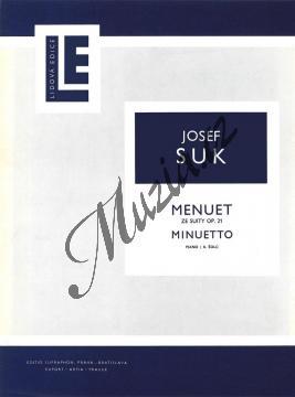 Suk Josef   Menuet ze  Suity  op. 21   Noty na klavír - H2045.jpg