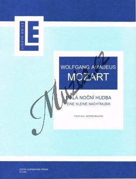 Mozart Wolfgang Amadeus | Malá noční hudba | Noty na klavír - H2149.jpg