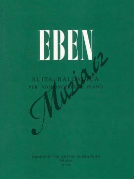 Eben Petr | Suita balladica pro violoncello a klavír | Noty na violoncello - H2156.jpg