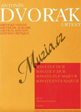 Dvořák Antonín | Sonáta F dur op. 57 | Partitura a party - Noty na housle - Autorizovaná kopie! - H2178.jpg