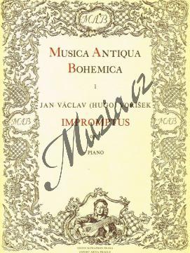Voříšek Jan Václav Hugo | Impromptus op. 7 | Noty na klavír - H2182.jpg
