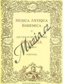 Voříšek Jan Václav Hugo | Sinfonia Re maggiore | Partitura - Noty pro orchestr - H2262.jpg