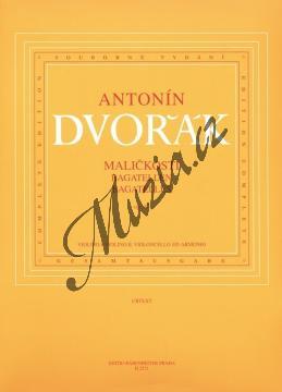 Dvořák Antonín   Maličkosti op. 47   Partitura a party - Noty pro smyčcový kvartet - H2271.jpg