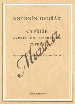 Dvořák Antonín | Cypřiše | Kapesní partitura - Noty pro smyčcový kvartet - H2306.jpg