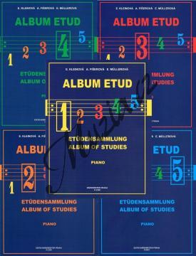 Album | Album etud - komplet všech dílů 1-5 | Noty na klavír - H2348-SET.jpg