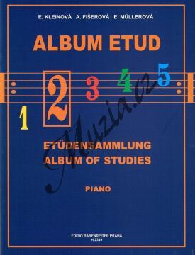 Album | Album etud 2. díl | Noty na klavír - H2349.jpg
