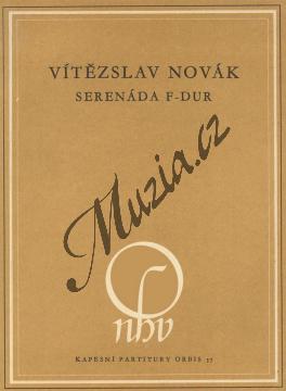 Novák Vítězslav | Serenáda F dur op. 36 | Kapesní partitura - Noty pro orchestr - H242.jpg