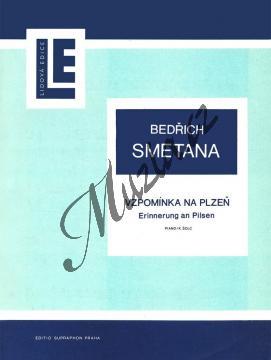 Smetana Bedřich | Vzpomínka na Plzeň | Noty na klavír - H2430.jpg