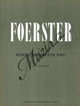 Foerster Josef Bohuslav | Písně červnových dnů op. 189 (šest písní pro soprán a klavír) | Noty pro sólový zpěv - H250.jpg