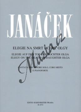 Janáček Leoš | Elegie na smrt dcery Olgy | Sborová partitura - Noty pro sbor - H2572.jpg