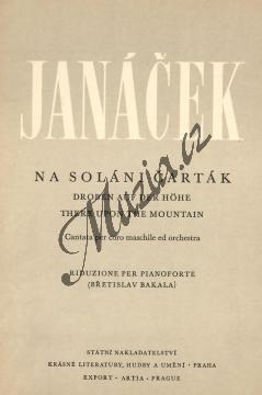 Janáček Leoš   Na Soláni Čarták (Kantáta pro mužský sbor a orchestr)   Klavírní výtah - Noty pro sbor - H2576.jpg