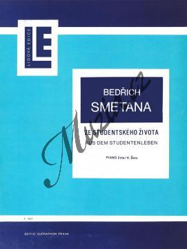 Smetana Bedřich | Ze studentského života | Noty na klavír - H2617.jpg