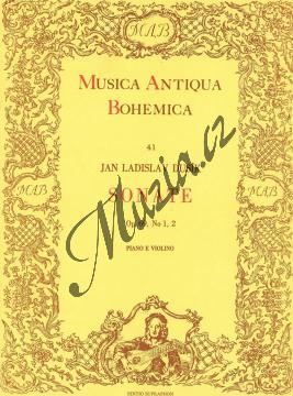 Dusík Jan Ladislav | Sonáty op. 69 č. 1, 2 - Partitura a party | Noty na housle - H2704.jpg