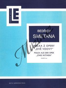 Smetana Bedřich | Polka z opery Dvě vdovy | Noty na klavír - H2773.jpg