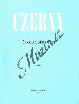 Czerny Carl | Škola zběhlosti op. 299 | Noty na klavír - H29.jpg