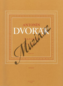 Dvořák Antonín | Mazurky op. 56 | Noty na klavír - H2907.jpg