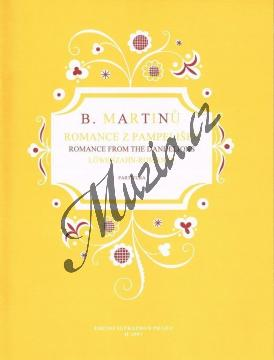 Martinů Bohuslav | Romance z pampelišek | Partitura - Noty pro sbor - H2997.jpg