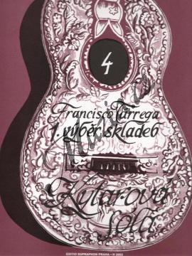 Tárrega Francisco   Výběr skladeb 1   Noty na kytaru - H3083.jpg