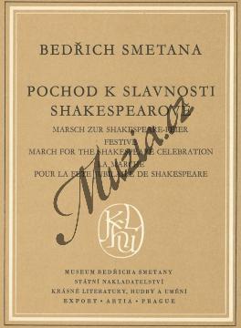 Smetana Bedřich | Pochod ke slavnosti Shakespearově op. 20 | Kapesní partitura - Noty pro orchestr - H3096.jpg