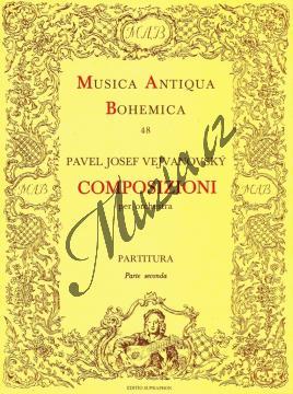 Vejvanovský Pavel Josef | Composizioni per orchestra 2 | Partitura - Noty pro orchestr - H3171.jpg