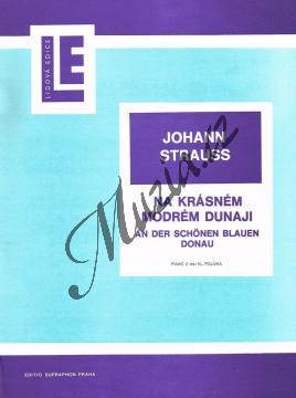 Strauss Johann | Na krásném modrém Dunaji op. 314 | Noty na klavír - H3198.jpg