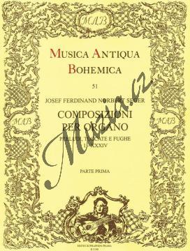 Seger Josef Norbert Ferdinand | Composizioni per organo 1 (Preludi, Toccate e Fughe) | Noty na varhany - H3199.jpg