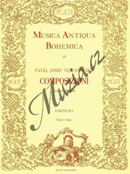 Vejvanovský Pavel Josef | Composizioni per orchestra 3 | Partitura - Noty pro orchestr - H3230.jpg