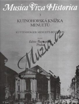 Album | Kutnohorská knížka menuetů | Noty na klavír - H3305.jpg