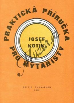 Kotík Josef | Praktická příručka pro kytaristy (Akordy, hmaty, taneční rytmy) | Noty na kytaru - H3339.jpg