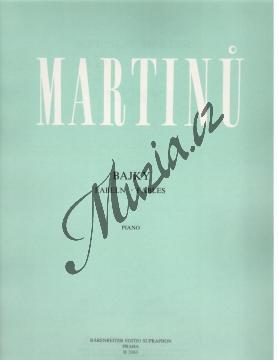 Martinů Bohuslav | Bajky | Noty na klavír - H3363.jpg