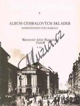 Album | Album cembalových skladeb | Noty na cembalo - H3441.jpg