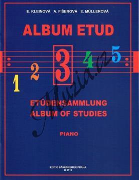 Album | Album etud 3. díl | Noty na klavír - H3511.jpg