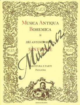 Benda Jiří Antonín | Sinfonie 1-3 | Partitura a party - Noty pro orchestr - H3555.jpg