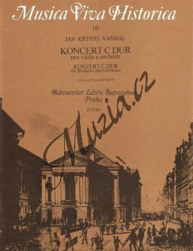 Vaňhal Jan Křtitel | Koncert C dur pro violu a orchestr | Klavírní výtah - Noty na violu - H3586.jpg