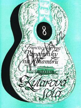 Tárrega Francisco   Vzpomínky na Alhambru   Noty na kytaru - H3590.jpg
