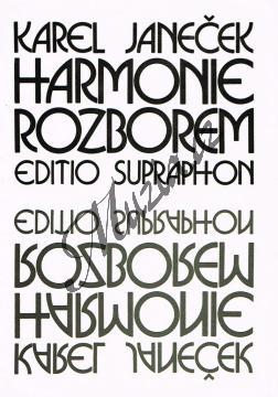 Janeček Karel | Harmonie rozborem | Učebnice - Hudební teorie - H3667.jpg