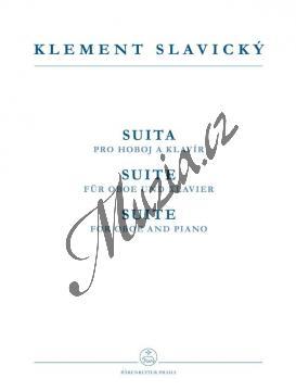 Slavický Klement | Suita pro hoboj a klavír | Partitura a sólový part - Noty na hoboj - H3723.jpg