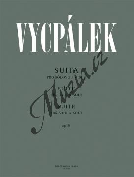 Vycpálek Ladislav   Suita pro sólovou violu op. 21   Noty na violu - H3729.jpg