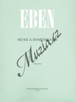 Eben Petr | Musica Dominicalis (Nedělní hudba) | Noty na varhany - H3761.jpg